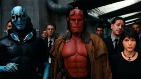 Hellboy II The Golden Army (2008) - Clip The team meets Johann