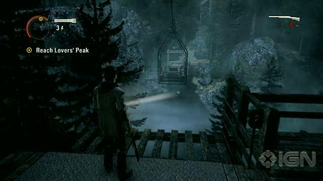 Alan Wake X360 - Walkthrough - Alan Wake - Nightmare Difficulty - Episode 2 - Through Tree