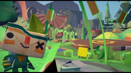 Tearaway Gamescom 2012 Gameplay Demo
