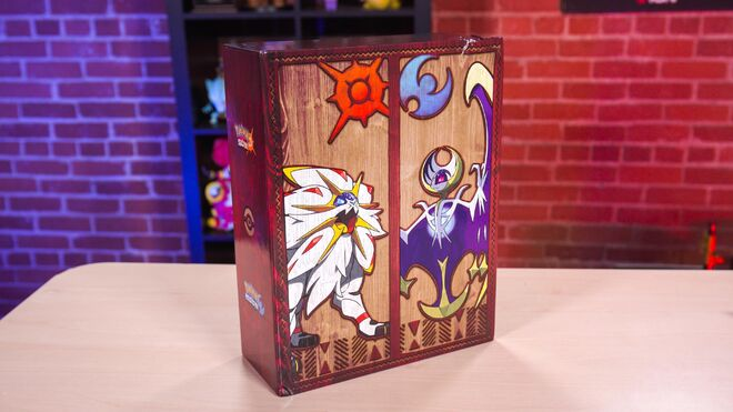 Pokemon Sun and Moon Collector's Vault Unboxing