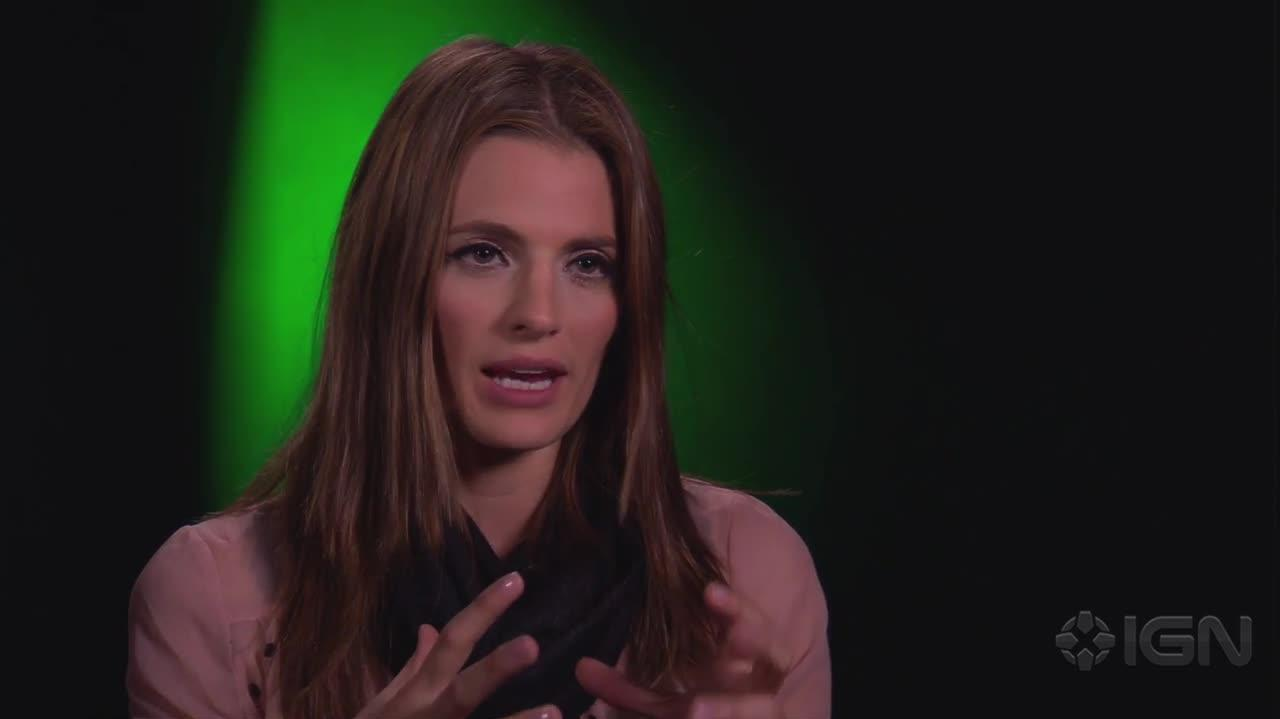 Superman Unbound - Stana Katic Interview