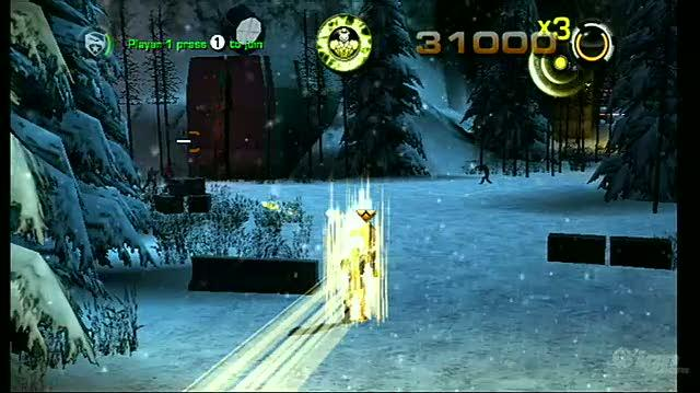 G.I. Joe The Rise of Cobra -- The Game Nintendo Wii Gameplay - Accelerator Suit