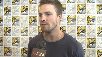 Meet TVs New Green Arrow - Comic-Con 2012