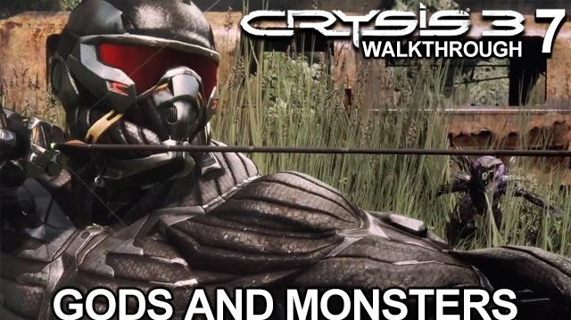 Crysis 3 Walkthrough - Gods And Monsters on Supersoldier Difficulty (Part 7)