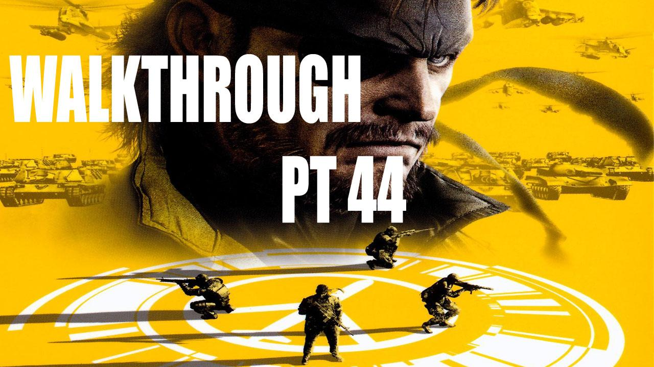 Metal Gear Solid Peace Walker HD - Mission 19 - Snake's Interrogation Cinematic - Gameplay