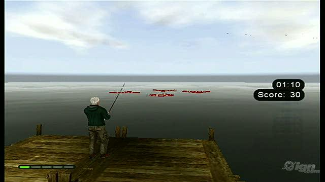 Bass Pro Shops The Strike Nintendo Wii Gameplay - Casting Challenge