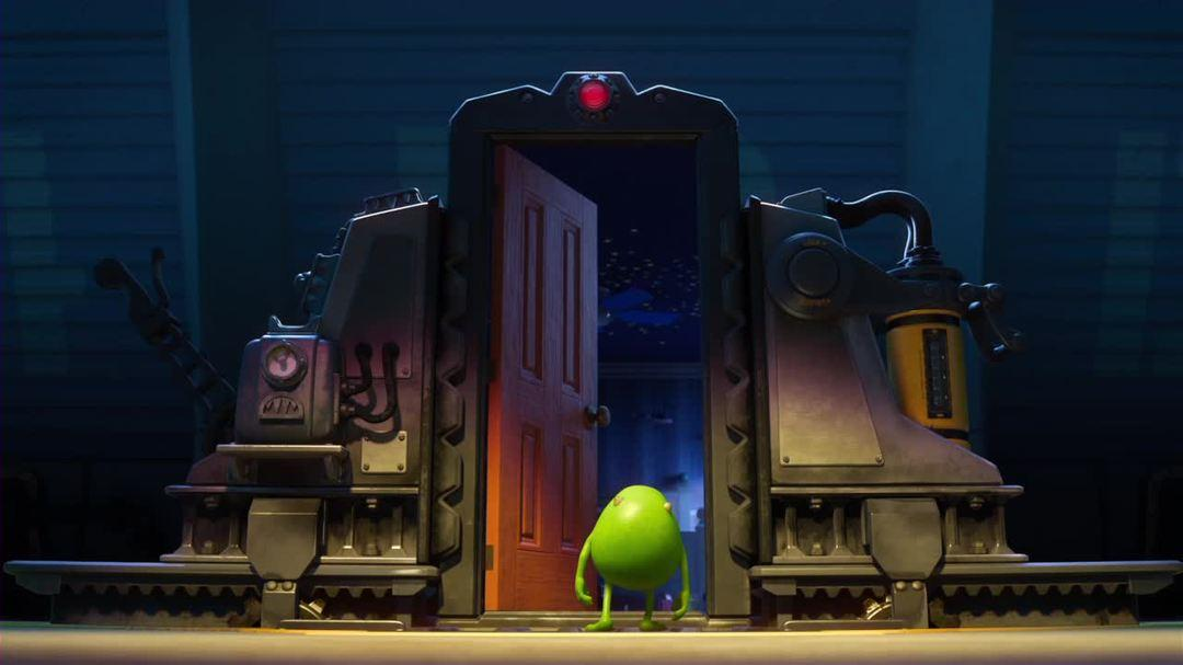 "Monsters University - Clip - ""Mike Crosses The Line"""