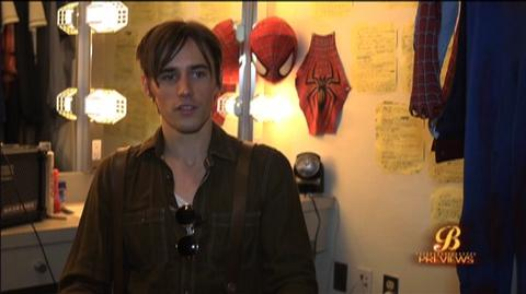 Spider-Man Turn Off The Dark (2010) - Interview Reeve Carney