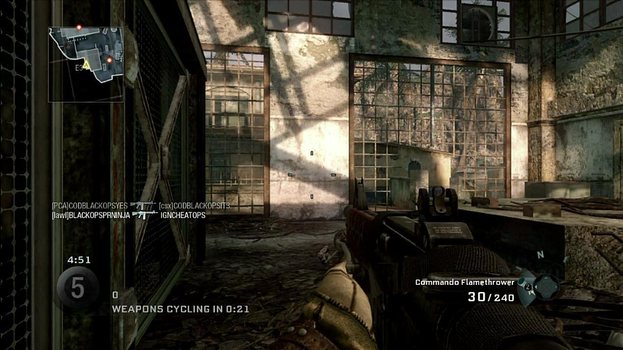 Call of Duty Black Ops Sharpshooter Gameplay