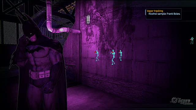 Batman Arkham Asylum PlayStation 3 Gameplay - Score Three For Batman
