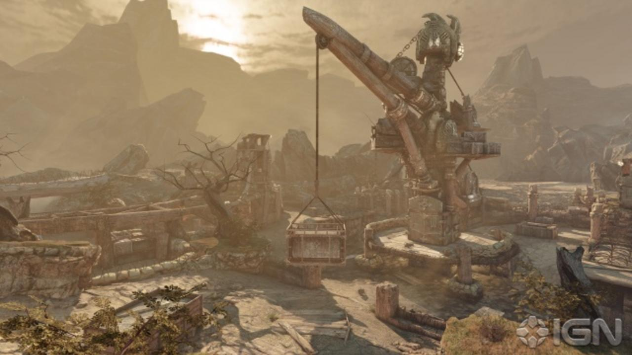 Gears of War 3 Beta Map Tour Trenches