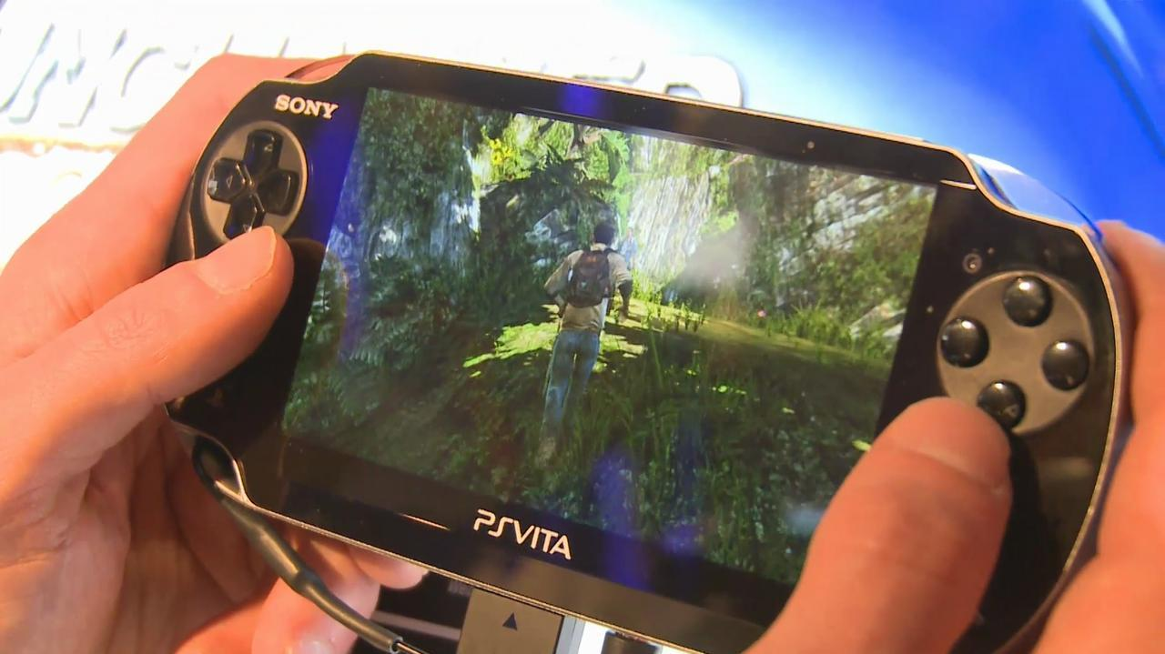 E3 2011 Uncharted Golden Abyss Off-Screen Demo Part 1