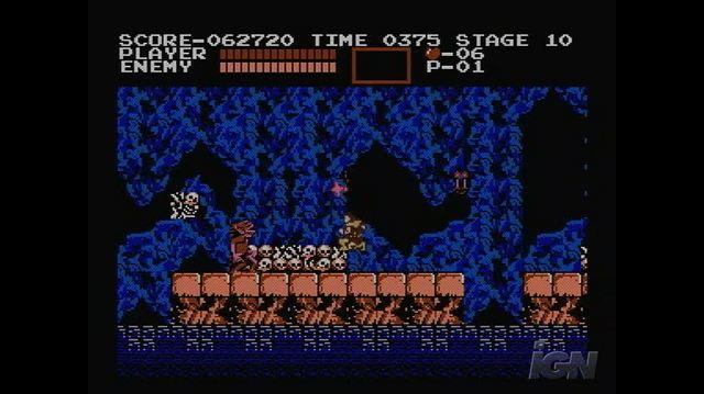 Castlevania Retro Game Gameplay - Underground