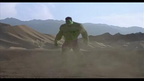 Hulk - Destroying the tanks
