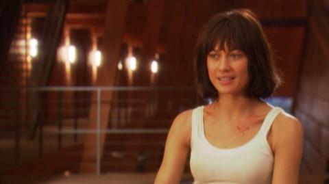 """Quantum of Solace (2008) - Interview Olga Kurylenko """"On her character"""""""