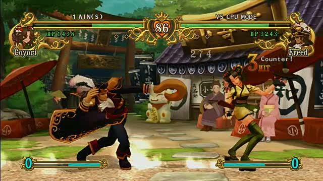 Battle Fantasia Xbox 360 Gameplay - Coyori vs
