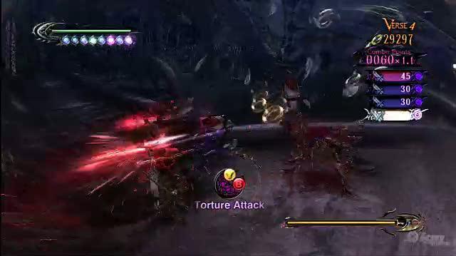 Bayonetta Xbox 360 Trailer - Witch Time