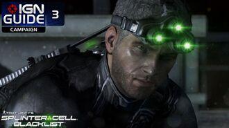 Splinter Cell Blacklist Perfectionist Walkthrough Part 3 - Insurgent Stronghold
