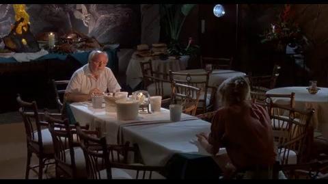Jurassic Park - Hammond becomes nostalgic