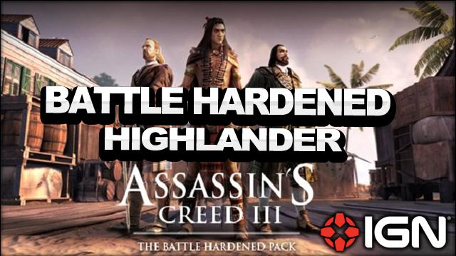 Assassin's Creed 3 Multiplayer - Battle Hardened Pack - Highlander - Wolfpack