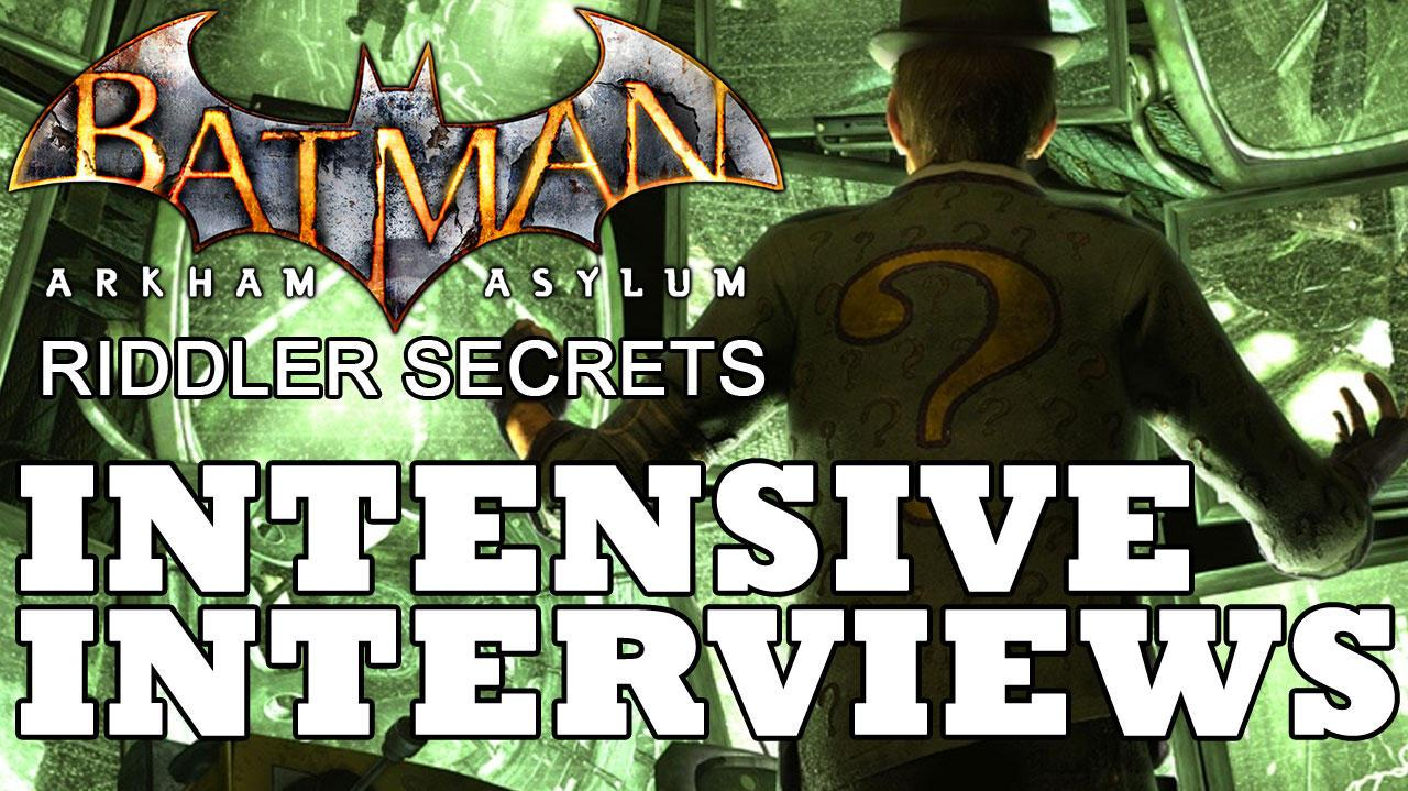 Batman Arkham Asylum Intensive Treatment Patient Interview Locations