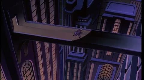 Batman Mask Of The Phantasm - the Phantasm kills Sol