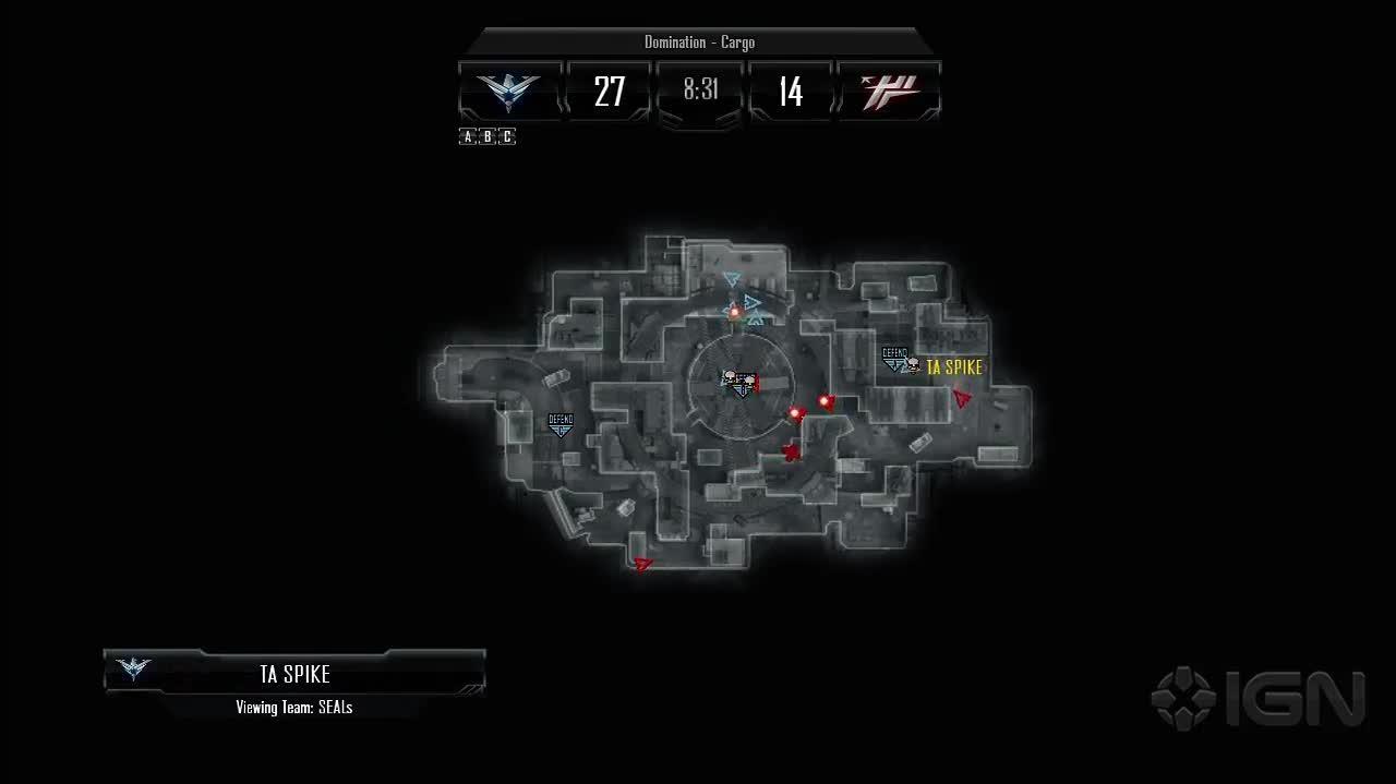 Call of Duty Black Ops II Shoutcasting Demo
