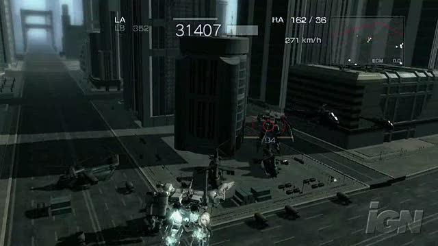 Armored Core 4 Xbox 360 Preview - Massive Explosions
