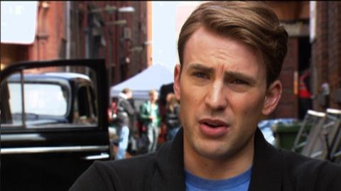 "Captain America The First Avenger (2011) - Interview ""Chris Evans On How He Prepared For The Role"""