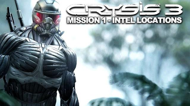 Crysis 3 Walkthrough - Mission 1 Intel, Blackbox, and Poster Locations in Post-Human