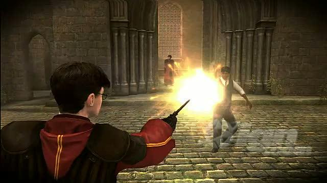 Harry Potter and the Half-Blood Prince Xbox 360 Trailer - Magical Fights Trailer