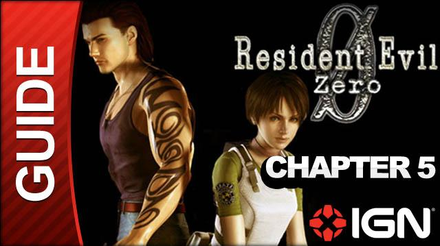 Resident Evil Zero (GameCube) - Chapter 5 - Tyrant Boss Fight Part 1 - Walkthrough