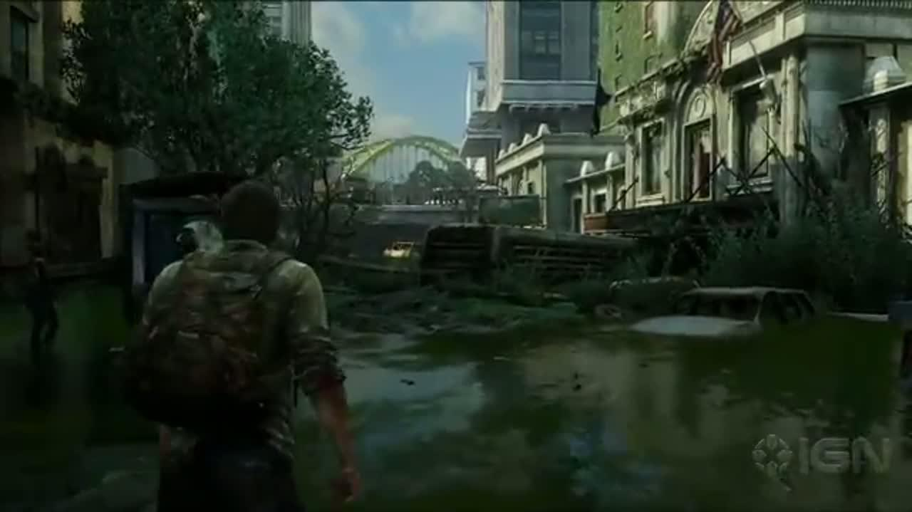 The Last of Us - Gameplay Demo - E3 2012