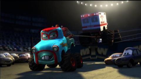 Cars Toons Mater's Tall Tales (2010) - Clip Monster Truck Mater