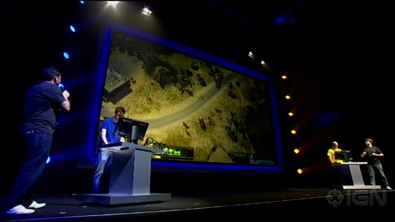 Gamescom Command & Conquer Stage Demo