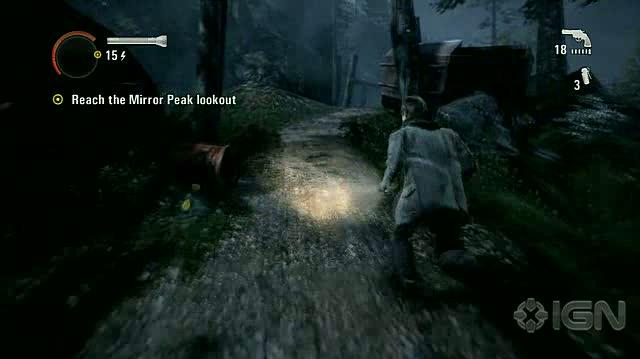 Alan Wake X360 - Walkthrough - Alan Wake - Nightmare Difficulty - Episode 3 - Back to the Woods
