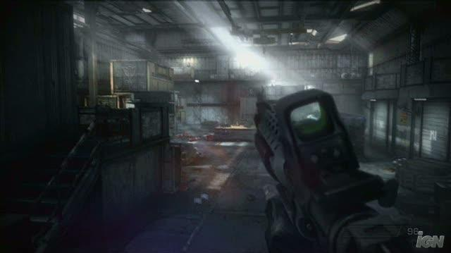 Killzone 2 PlayStation 3 Gameplay - Warehouse Grenade