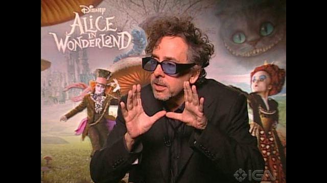 Alice in Wonderland (2010) Movie Interview - Video Interviews