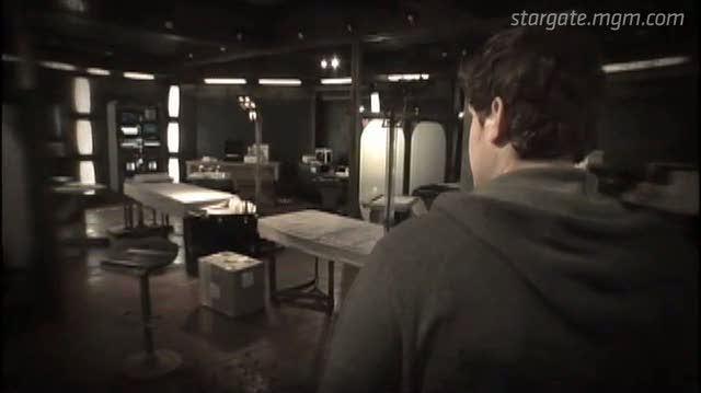 Stargate Universe TV Clip - How Do I Get Back?