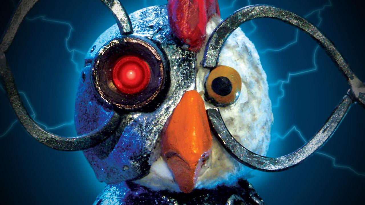 Robot Chicken Logo 09:06 Robot Chicken