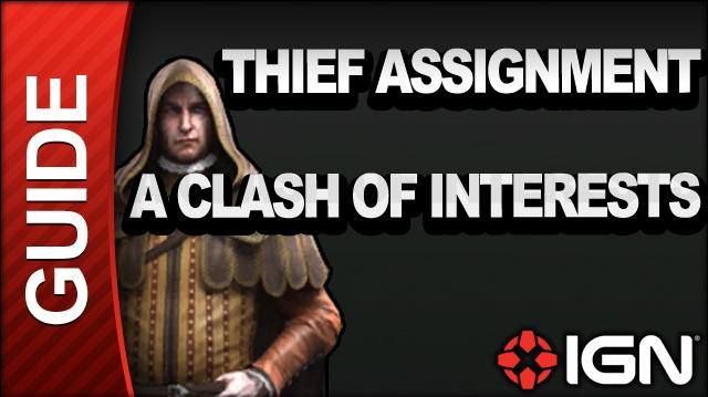 Assassin's Creed Brotherhood Walkthrough - Thief Assignments A Clash of Interests