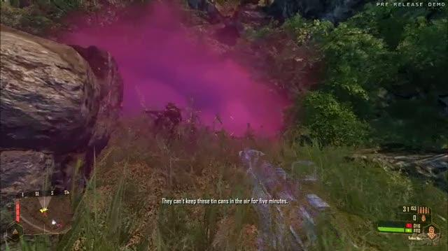 Crysis Warhead PC Games Gameplay - E3 2008 Purple Haze