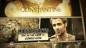 Constantine Matt Ryan San Diego Comic-Con 2014 Sizzle