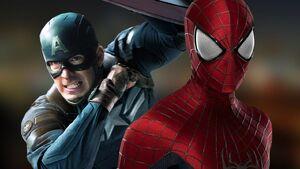 Chris Evans Ponders Spider-Man in Civil War Plus Hemsworth Chooses Team Cap Vs