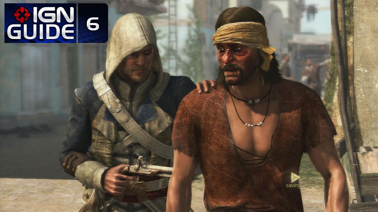 Assassin's Creed 4 Walkthrough - Sequence 02 Memory 04 A Man They Call the Sage (100% Sync)