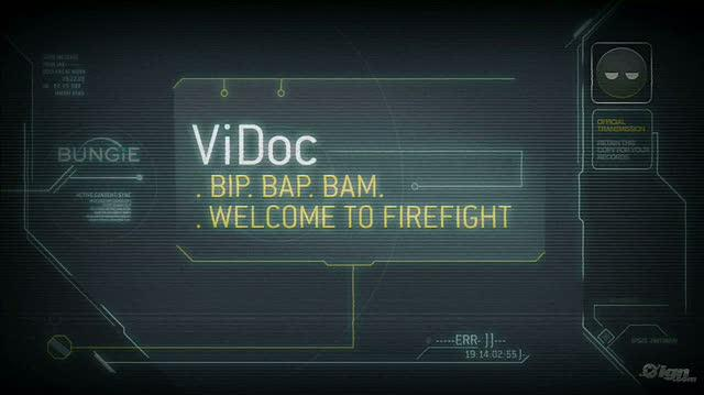 Halo 3 ODST Xbox 360 Video - Bip Bap Bam Welcome to Firefight