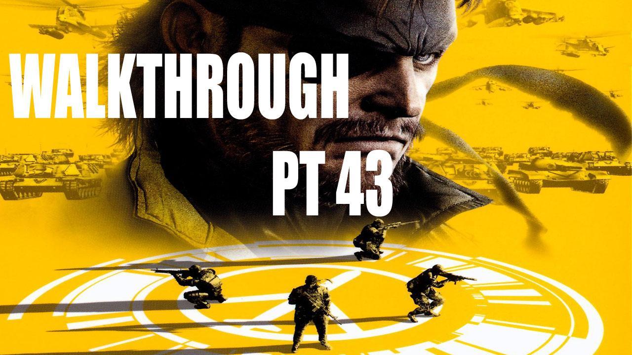 Metal Gear Solid Peace Walker HD - Mission 18 - Meeting Coldman Cinematic - Gameplay