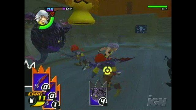 Kingdom Hearts RE Chain of Memories PlayStation 2 Gameplay 2008 12 01