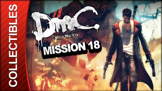 DmC Devil May Cry Mission 18 Demon's Den Collectible Locations - All Keys Doors and Lost Souls