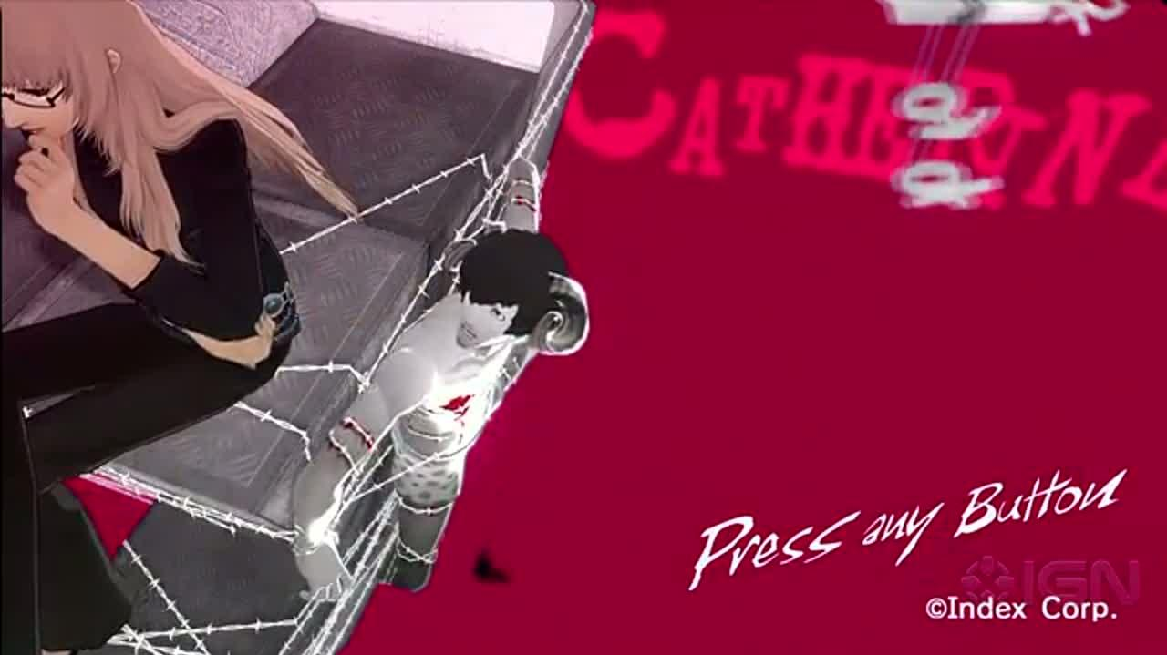 Catherine Title Screen